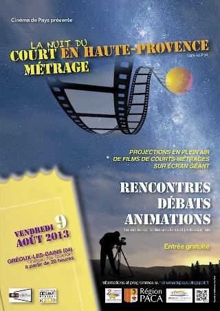La nuit du Court en Haute Provence