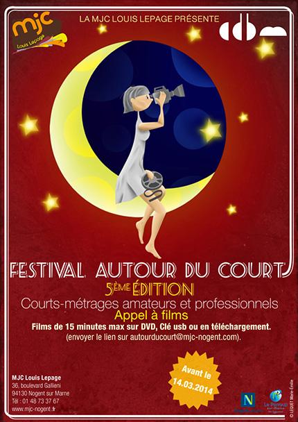 Affiche Fstival Autour du Court