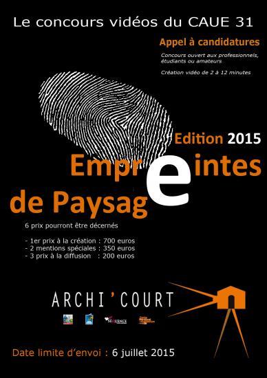 Affiche archicourt2015