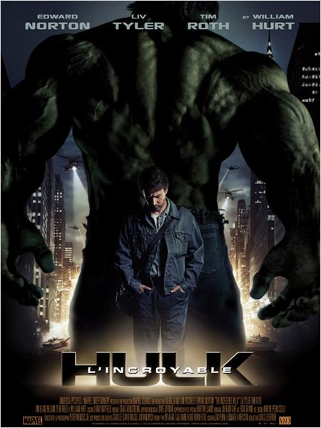 L incroyable hulk film louis leterrier